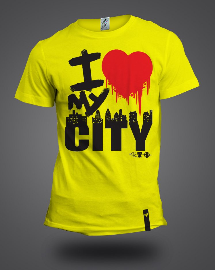 i love my city mock up