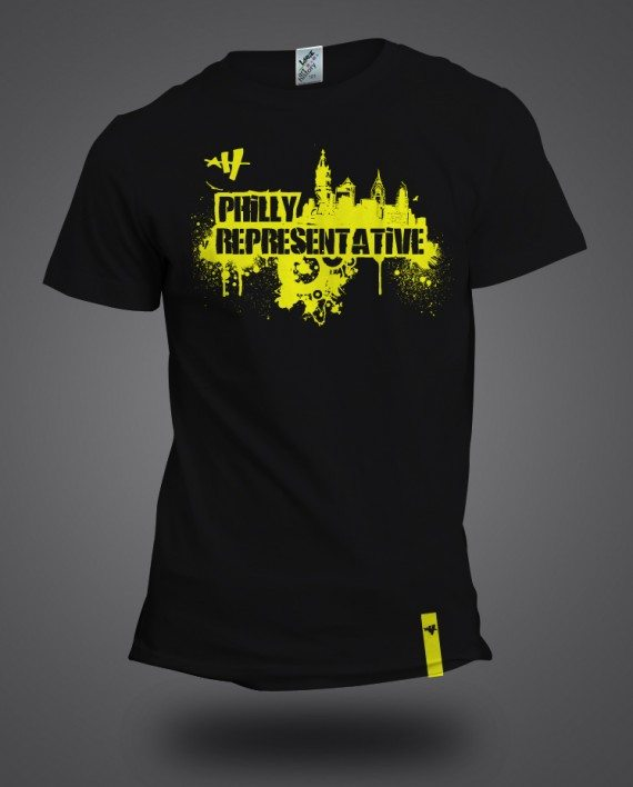 Philly rep yellow